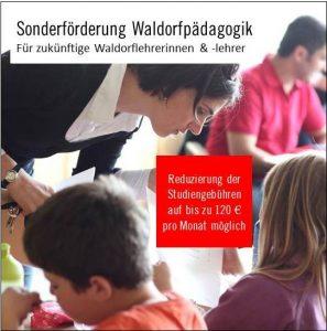 Sonderförderung Waldorfpädagogik